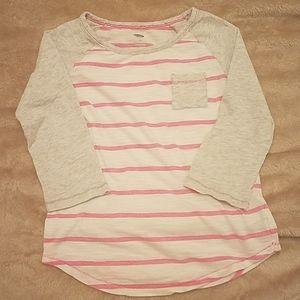 🎂 Girls long sleeve tee size M 3/$15